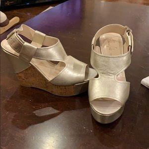 Franco Sarto A-XENON sandal in platino